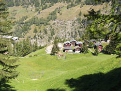 Berisal, ascent to the Simplon pass